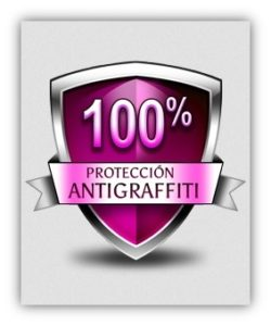 Protección antigraffiti 100%