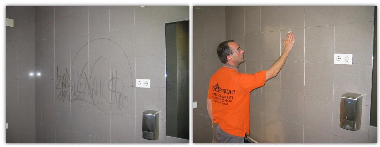 Protección antigraffiti