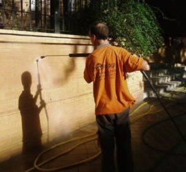 Limpieza y mantenimiento de fachadas