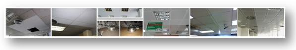 Limpieza y Restauración de falsos techos