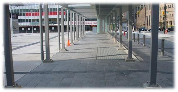 Protección de pavimento