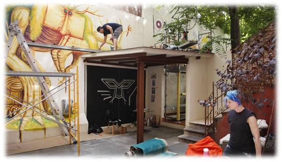 Arte Urbano Exterior