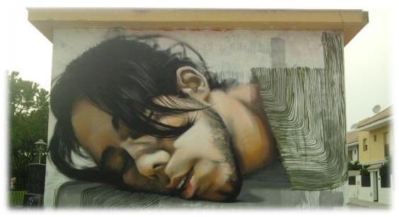 trabajos del artista sevillano La Mesa