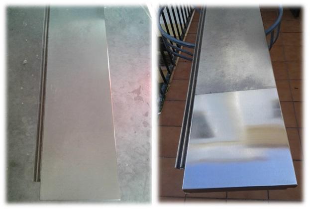 Proceso - Limpieza de acero inoxidable