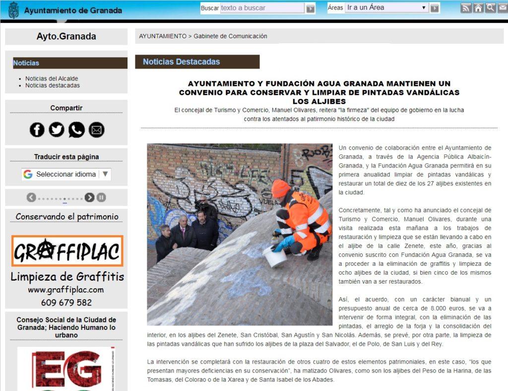 Ayuntamiento de Granada - Gabinete de prensa 2020