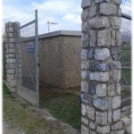 Limpieza de graffitis en piedra - después