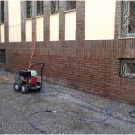Limpieza de ladrillo y graffitis Después - Universidad de Granada