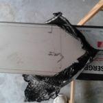 Pilido de acero - antes