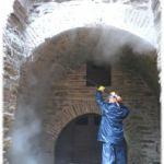 Aljibe San Cristobal Proceso de limpieza